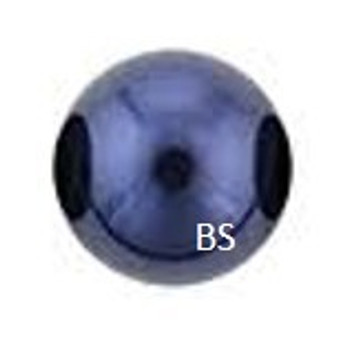 12mm Swarovski 5810 Night Blue Pearls