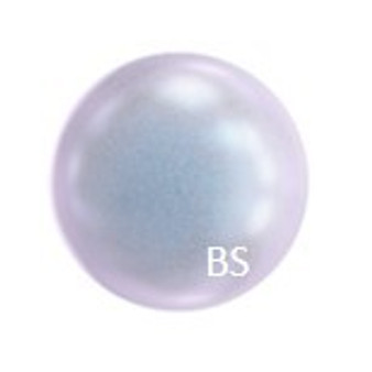 12mm Swarovski 5810 Iridescent Dreamy Blue Pearls