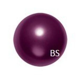 12mm Swarovski 5811 Blackberry Large Hole Pearls