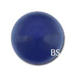 14mm Swarovski 5811 Dark Lapis Large Hole Pearls