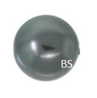 14mm Swarovski 5811 Dark Grey Large Hole Pearls