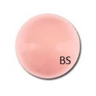 14mm Swarovski 5811 Pink Coral Large Hole Pearls