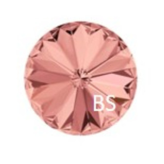 12mm Swarovski 1122 Blush Rose Rivoli