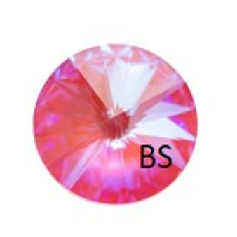 12mm Swarovski 1122 Lotus Pink DeLite Rivoli