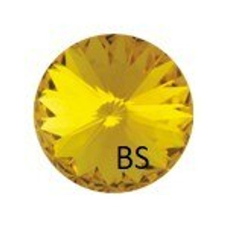 14mm Swarovski 1122 Sunflower Rivoli