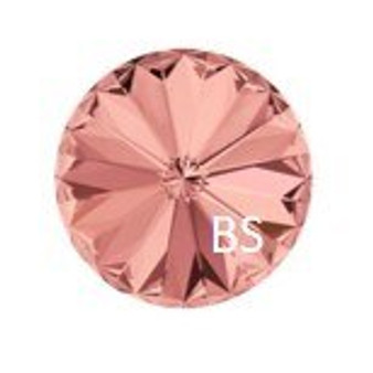 14mm Swarovski 1122 Blush Rose Rivoli