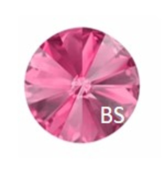 8mm Swarovski 1122 Rose Rivoli (ss39)