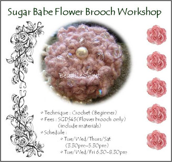 Sugar Babe Brooch Workshop