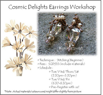 Cosmic Delights Earring Workshop