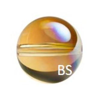 Swarovski 5028/4 Globe Bead Metallic Sunshine 8mm