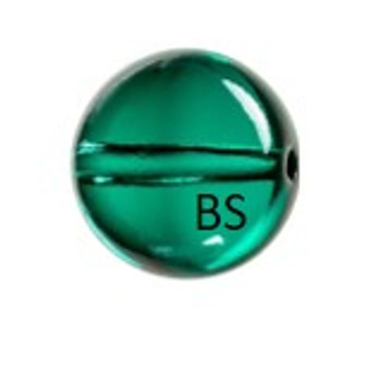 Swarovski 5028/4 Globe Bead Emerald 8mm