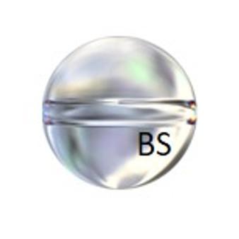 Swarovski 5028/4 Globe Bead Crystal AB 8mm