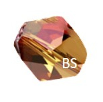 Swarovski 5523 Cosmic Bead Copper 12mm
