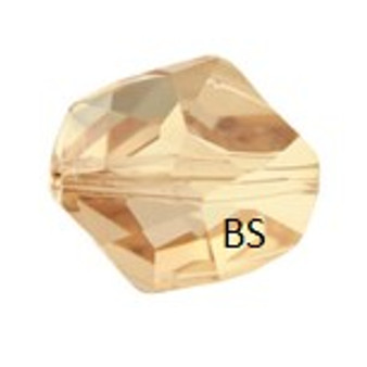 Swarovski 5523 Cosmic Bead Crystal Golden Shadow 12mm