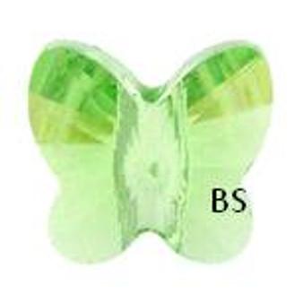 Swarovski 5754 Butterfly Bead Peridot 5mm