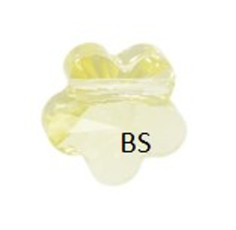 Swarovski 5744 Flower Bead Jonquil 6mm