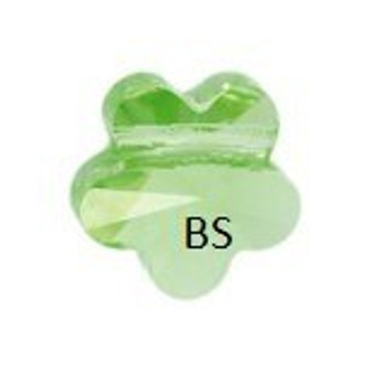 Swarovski 5744 Flower Bead Peridot 8mm