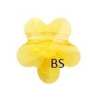 Swarovski 5744 Flower Bead Sunflower 8mm