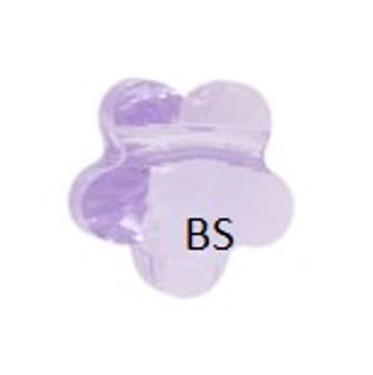 Swarovski 5744 Flower Bead Violet 8mm