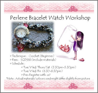 Perlene Watch Bracelet Workshop