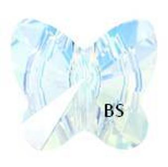 Swarovski 5754 Butterfly Bead Crystal AB 8mm