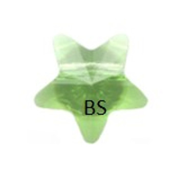 Swarovski 5714 Star Bead Peridot 8mm