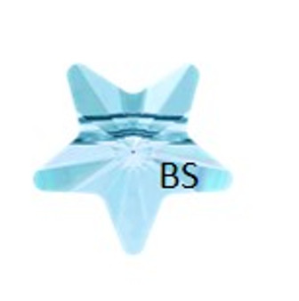 Swarovski 5714 Star Bead Aquamarine 8mm