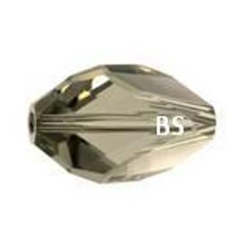 Swarovski 5650 Cubist Bead Black Diamond 12x8mm