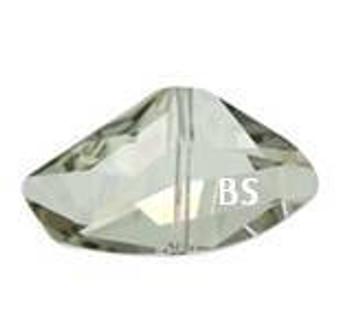 Swarovski 5556 Galactic Bead Crystal Silvershade 11x19mm