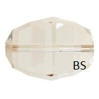 Swarovski 5030 Lucerna Bead Crystal Golden Shadow 18mm