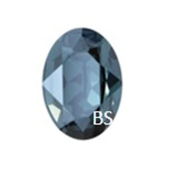 Swarovski 4210 Montana 25x18mm Oval Fancy Stone