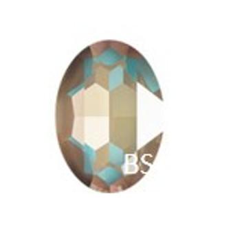 Swarovski 4217 Crystal Cappuccino DeLite 30x22mm Big Oval Fancy Stone