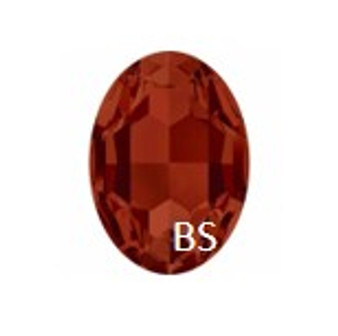 Swarovski 4217 Crystal Red Magma 30x22mm Big Oval Fancy Stone
