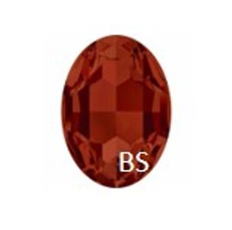Swarovski 4217 Crystal Red Magma 30x22mm Big Oval Fancy Stone