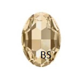 Swarovski 4217 Crystal Golden Shadow 30x22mm Big Oval Fancy Stone