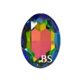 Swarovski 4217 Crystal Vitrail Medium 30x22mm Big Oval Fancy Stone