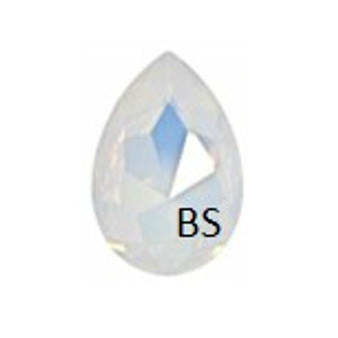 Swarovski 4327 White Opal 30x20mm Large Pear Fancy Stone