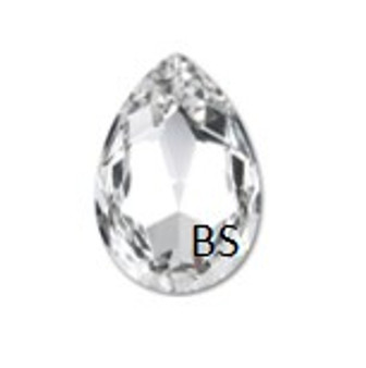 Swarovski 4327 Crystal 30x20mm Large Pear Fancy Stone