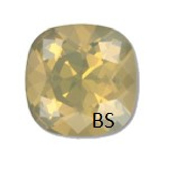 12mm Swarovski 4470 Sand Opal Cushion Square