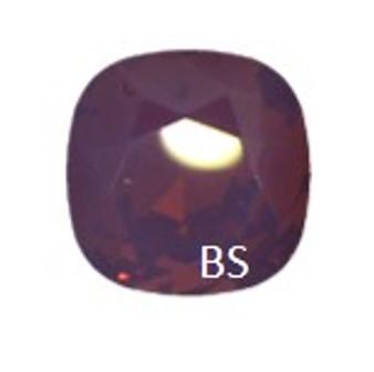 12mm Swarovski 4470 Cyclamen Opal Cushion Square