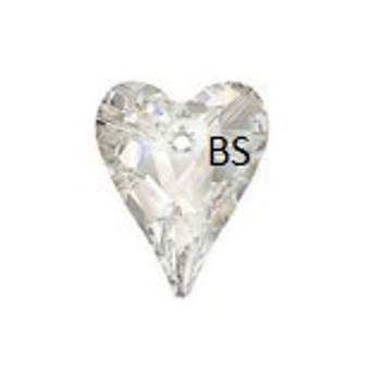 Swarovski 6240 Wild Heart Pendant Crystal AB 12mm