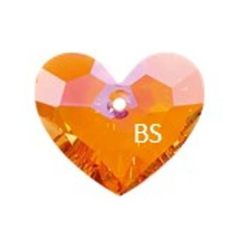 Swarovski 6264 Truly in Love Heart Pendant Astral Pink 28mm