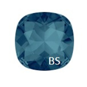 10mm Swarovski 4470 Indicolite Cushion Square