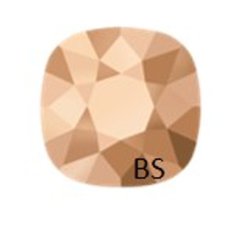10mm Swarovski 4470 Rose Gold Cushion Square