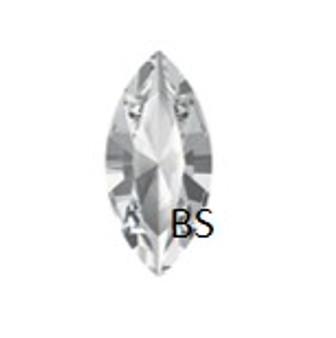 Swarovski 4228 Xilion Navette Stone Crystal 15x7mm