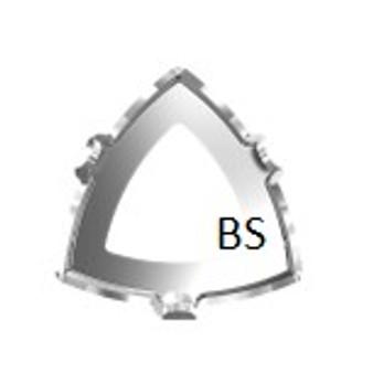 Swarovski 4799/S Rhodium Plating Open Setting 20x20.4mm