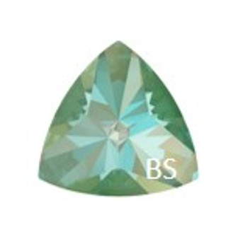Swarovski 4799 Silky Sage Delite Lacquer Pro 20x20.4mm Kaleidoscope Triangle Fancy Stone