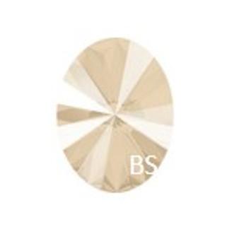 18x13.5mm Swarovski 4122 Oval Rivoli Fancy Stone Ivory Cream