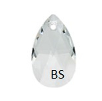 16mm Swarovski 6106 Crystal Pear Pendant