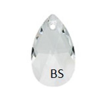 50mm Swarovski 6106 Crystal Pear Pendant